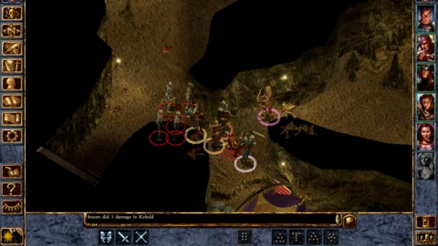 The enhanced version of Baldur's Gate won't be available for a while.