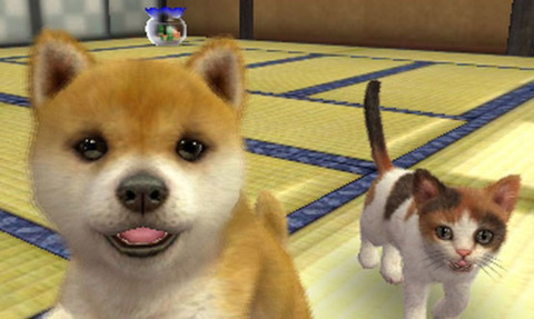 Nintendogs + Cats is the 3DS's first million-seller.