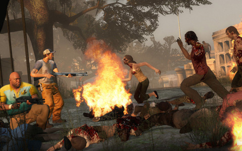 Left 4 Dead is very much alive.