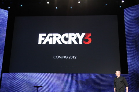 Far Cry 3 coming in 2012.