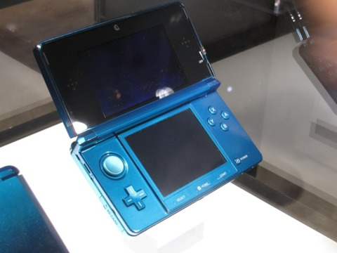 The 3DS will feature more core gaming titles.