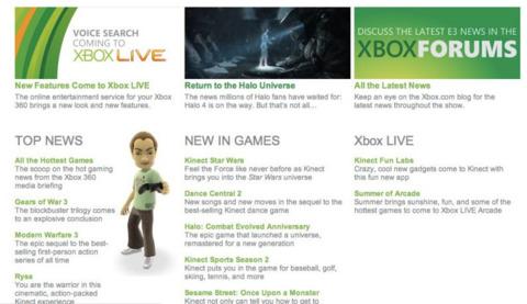 Microsoft accidentally let slip its big E3 news, it seems. Image credit: CVG.