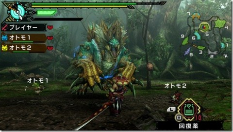 Monster Hunter Portable 3rd sold a lot of copies; therefore, it won the highest award in Sony's event.