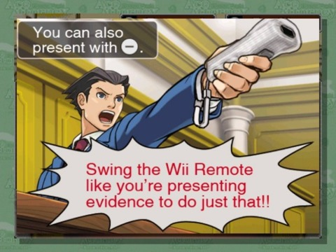 The WiiWare port of Phoenix Wright will bring courtroom antics to the living room.