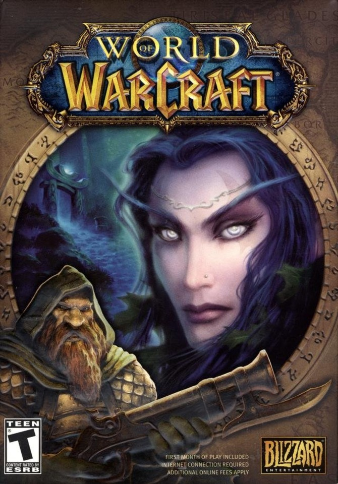 World of Warcraft--8.5 million players strong and Hayes' best-known work.