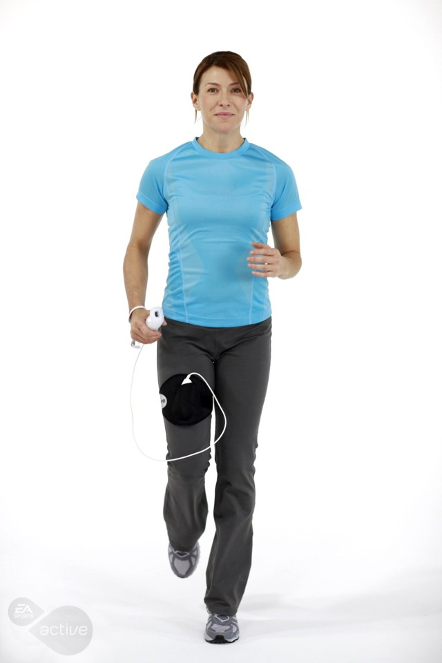 Running in place? Sounds like PE all right.
