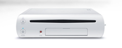 The Wii U, up close and personal.