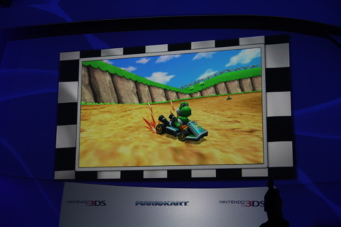 Mario Kart for the 3DS.