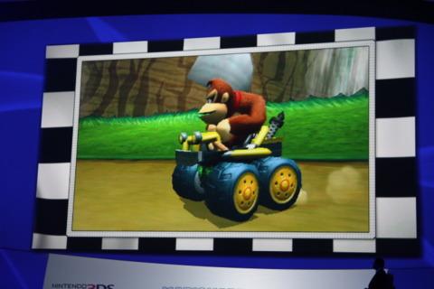 Donkey Kong's sweet new ride.