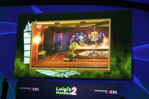Luigi's Mansion 2.