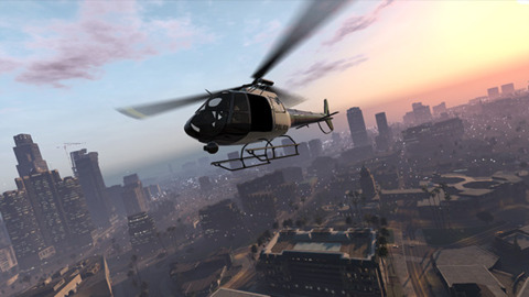 A new look inside the world of Grand Theft Auto V.