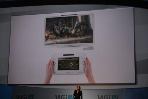 Zelda on the Wii U.