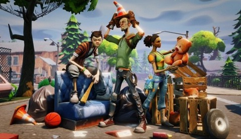 Fortnite is more than a couple of weeks away.