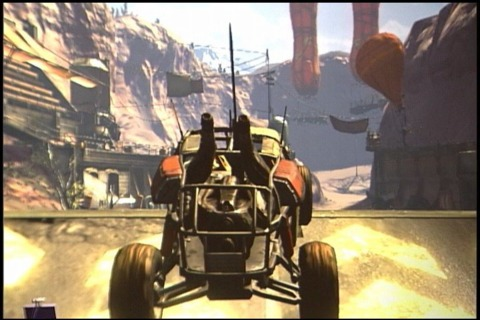 Highway maintenance is lacking in Rage's post-apocalyptic hellscape.