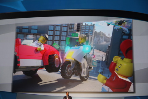 Lego City Stories for the Wii U.