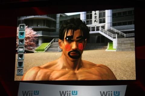 Tekken on the Wii U.