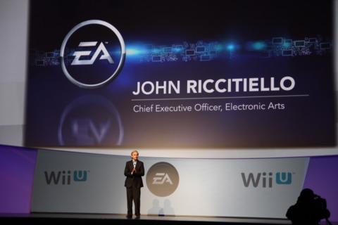 EA is a big fan of Nintendo's new console.