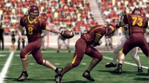EA Sports isn't faking it, NCAA Football 11 hits this week.