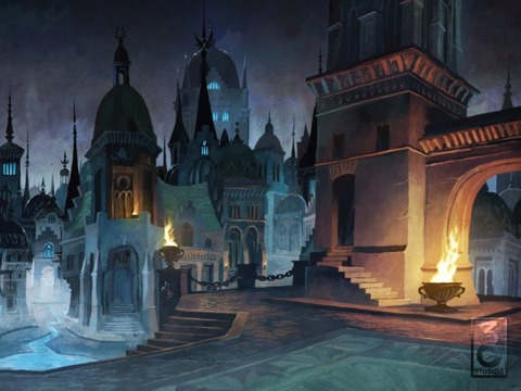 To date, all 38 Studios has shown of its games is a handful of concept art pieces for Copernicus.