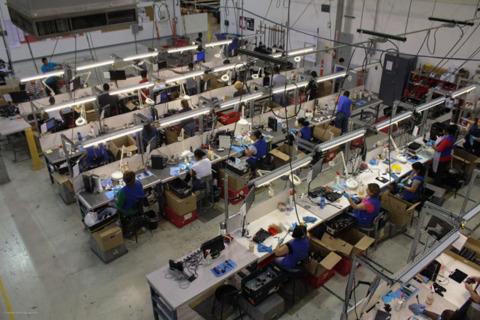 A look behind the scenes at GameStop's refurbishment center.