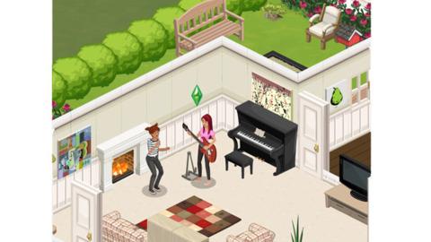 The Sims Social.