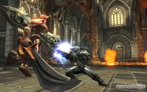 The release of the Darksiders and GOWIII demos side by side could be considered apt.