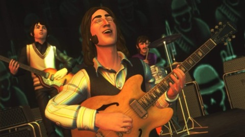 More US consumers sang The Beatles: Rock Band's tune.