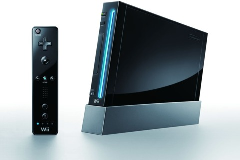 The new black Wii. Now with more fingerprints.