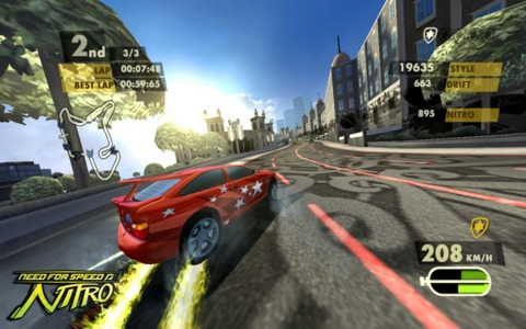 Need for Speed Nitro peels onto the Wii and DS November 3.
