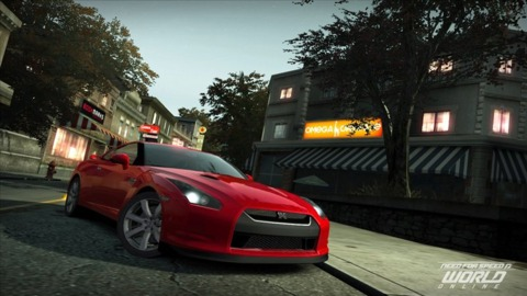 Need for Speed World Online is set to launch next holiday season.