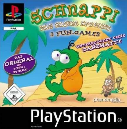 Schnappi - 3 Fun Games