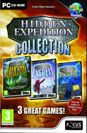 Hidden Expedition Collection Triple Pack