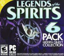 Legends of the Spirits 6 Pack Hidden Object Collection