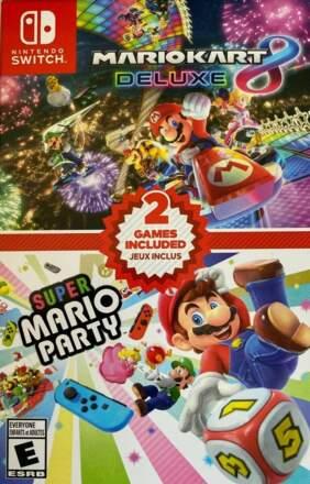 Mario Kart 8 Deluxe + Super Mario Party