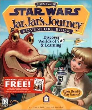 Star Wars: Jar Jar's Journey Adventure Book