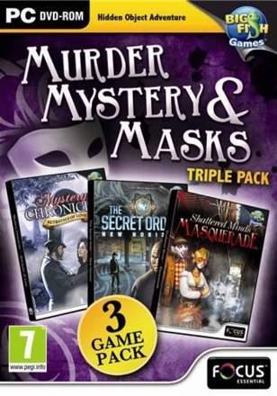 Murder, Mystery & Masks Triple Pack
