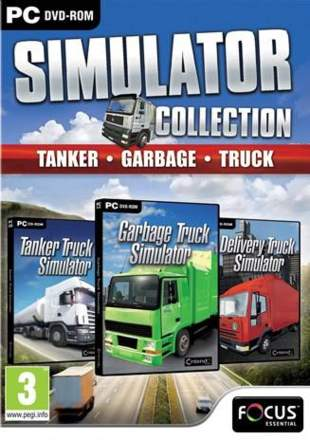 Tanker, Garbage and Truck Simulator Collection Triple Pack
