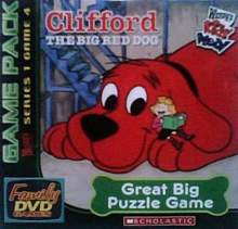 Wendy's Family DVD Games - Clifford the Big Red Dog: Great Big Puzzle Game