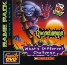 Wendy's Family DVD Games - Goosebumps: What's Different Challenge
