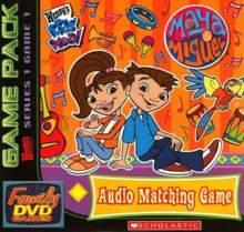 Wendy's Family DVD Games - Maya & Miguel: Audio Matching Game
