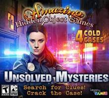 Amazing Hidden Object Games Unsolved Mysteries
