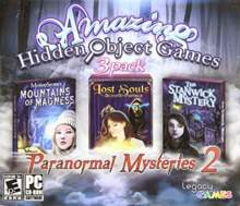 Amazing Hidden Object Games 3 Pack: Paranormal Mysteries 2