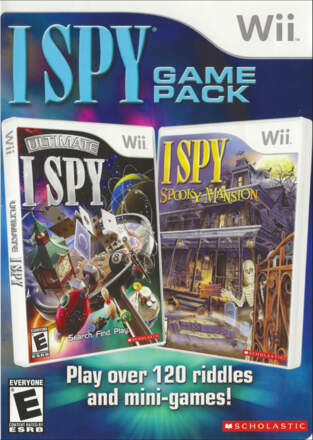 I SPY: Two Games in One