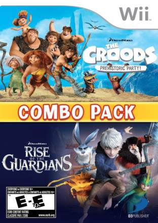 DreamWorks The Croods: Prehistoric Party! & Rise of the Guardians: Combo Pack