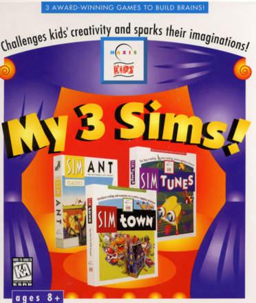 My 3 Sims!