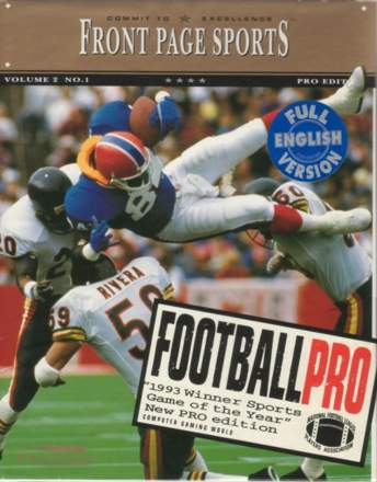 Front Page Sports: Football Pro