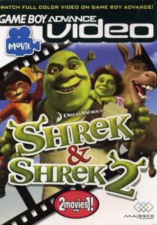 Game Boy Advance Video: Shrek / Shrek 2