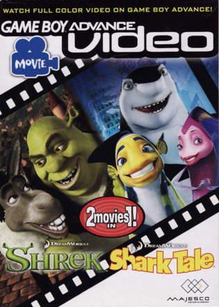 Game Boy Advance Video: Shrek / Shark Tale