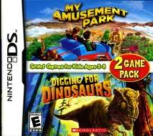 My Amusement Park and Digging for Dinosaurs Game Pack