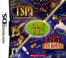 I Spy: Game Pack - I Spy Universe / I Spy Fun House